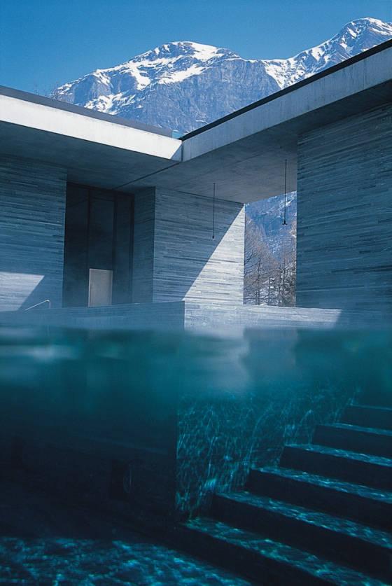 Terme di vals in svizzera centri termali terme vasche for Therme vals vals svizzera