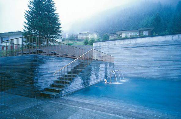 Bagni Termali Vals : Terme di vals in svizzera centri termali terme vasche termali