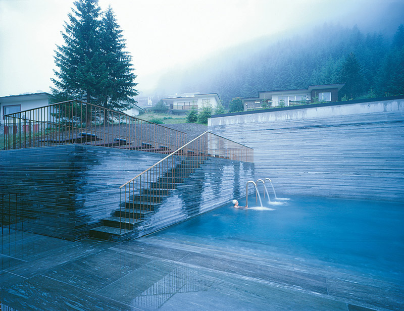 Bagni Termali Svizzera : Terme di vals in svizzera centri termali centri termali